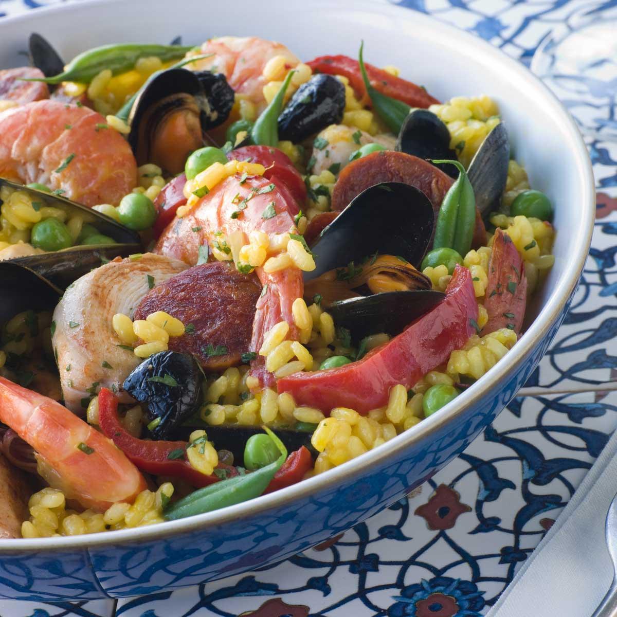 Recette paella cuisine madame figaro - Madame figaro cuisine ...