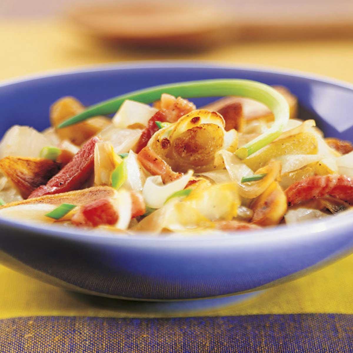 Po l e d 39 endives pommes de terre et lardons une recette - Cuisine belge recettes du terroir ...