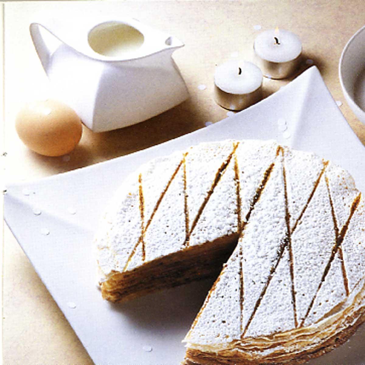 Gâteau de crêpes (sans œuf, ni lait) - une recette Gâteau ...