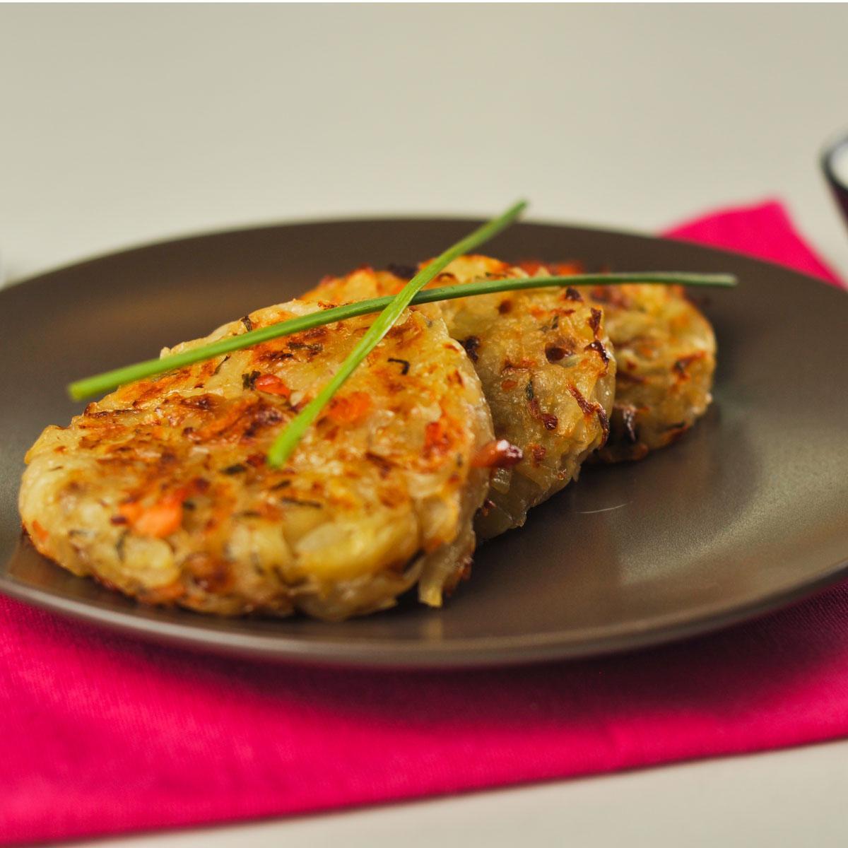 recette galettes de pomme de terre au saumon fum cuisine madame figaro. Black Bedroom Furniture Sets. Home Design Ideas