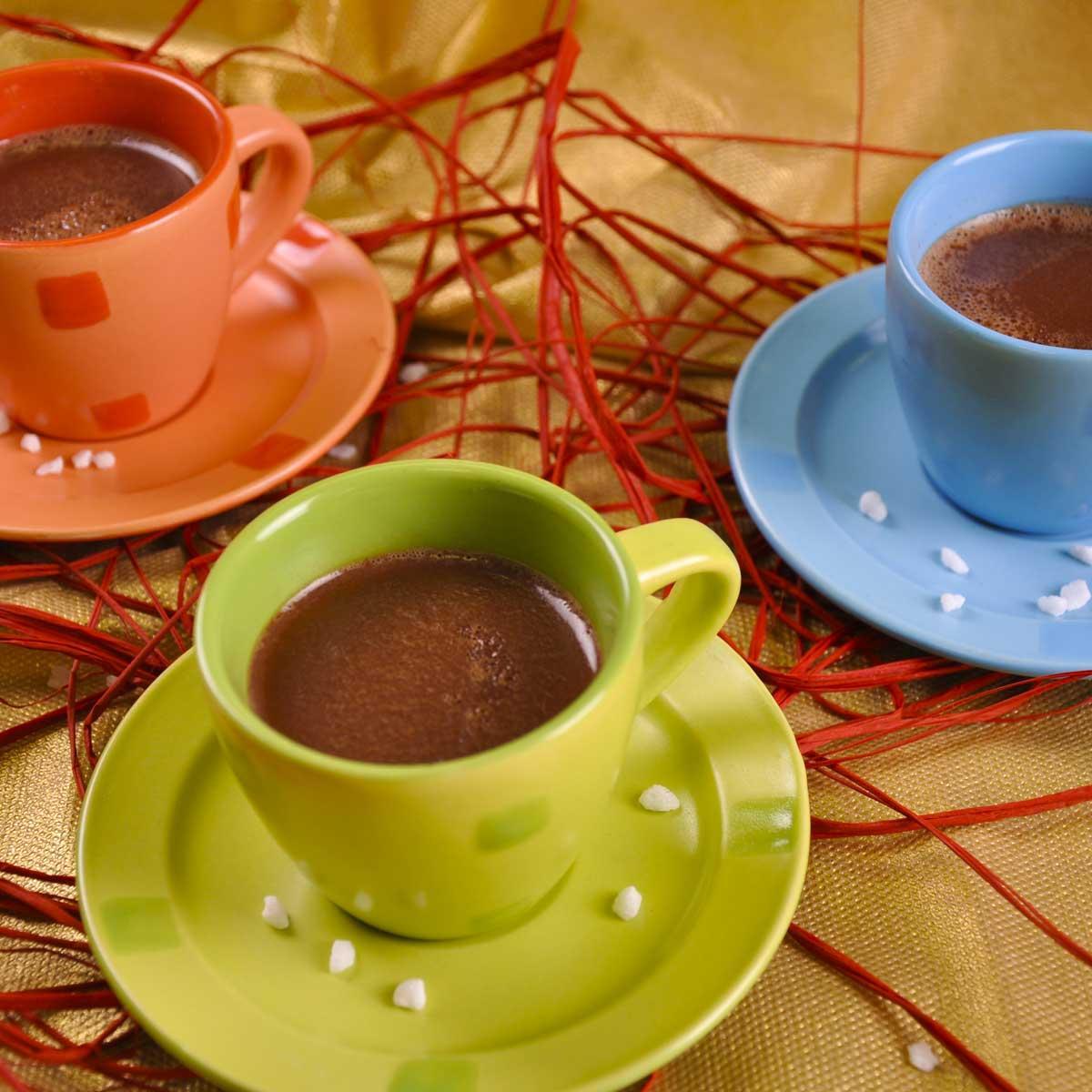 chocolat chaud de no l une recette entre amis cuisine le figaro madame. Black Bedroom Furniture Sets. Home Design Ideas