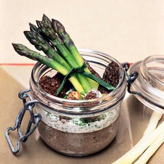 Royale de champignons et asperges une recette l gumes cuisine le figaro madame - Une royale en cuisine ...