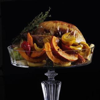 Pintade farcie et légumes rôtis - une recette Volaille -...