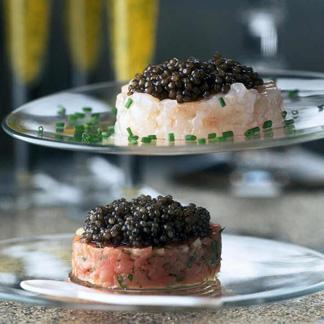 Trois impressions de caviar une recette russe cuisine - Cuisine traditionnelle russe ...
