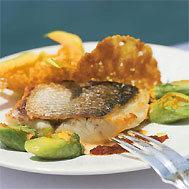 Loup grill la plancha et ses courgettes une recette m diterran e cuisi - Cuisine plancha facile ...