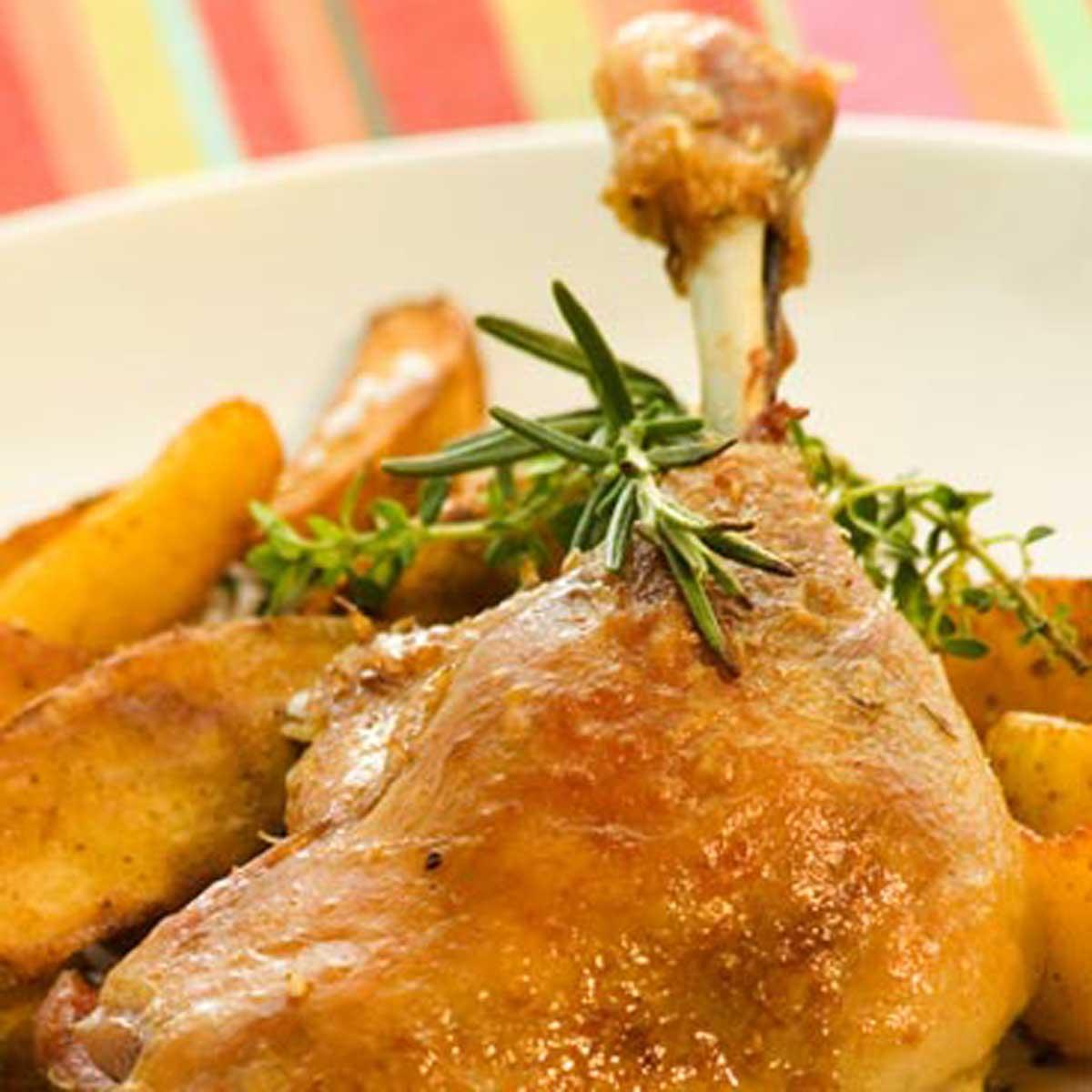 Recette cuisses de canard confites cuisine madame figaro - Recette de cuisse de canard ...