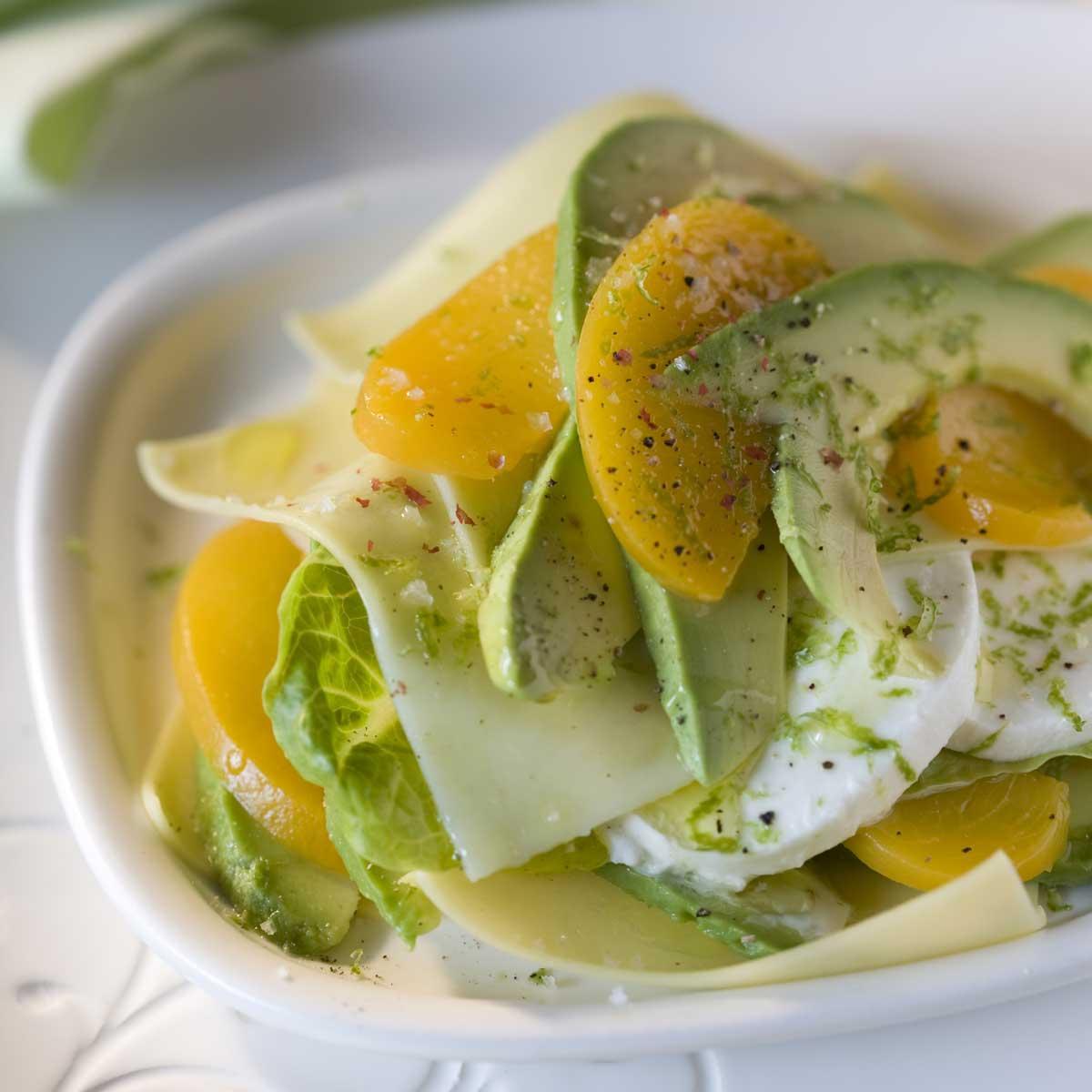 Salade d 39 t l gante l 39 avocat une recette salade cuisine le figaro madame - La cuisine de madame saint ange ...