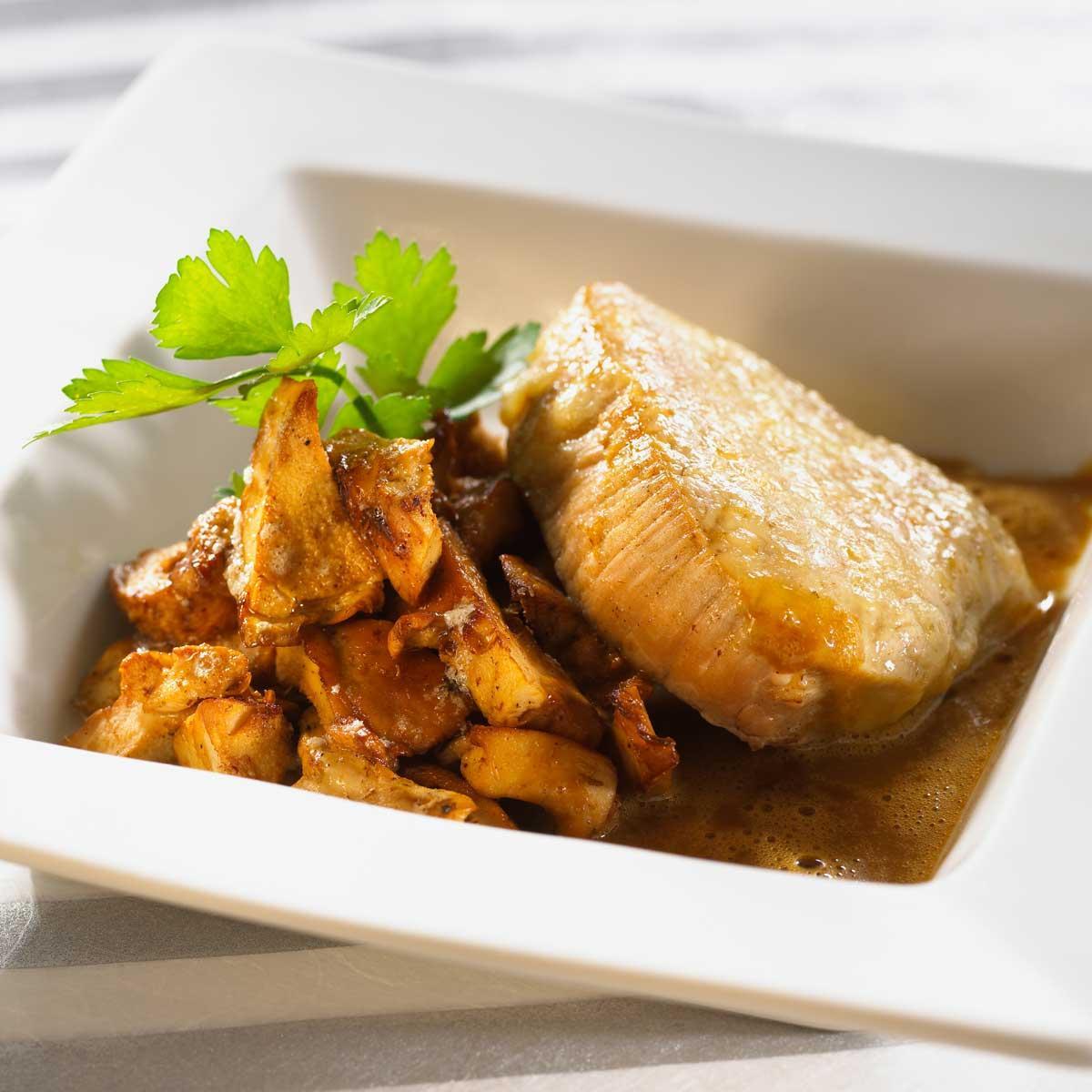 Recette filet mignon de veau en cro te de comt aux - Cuisiner le tendron de veau ...