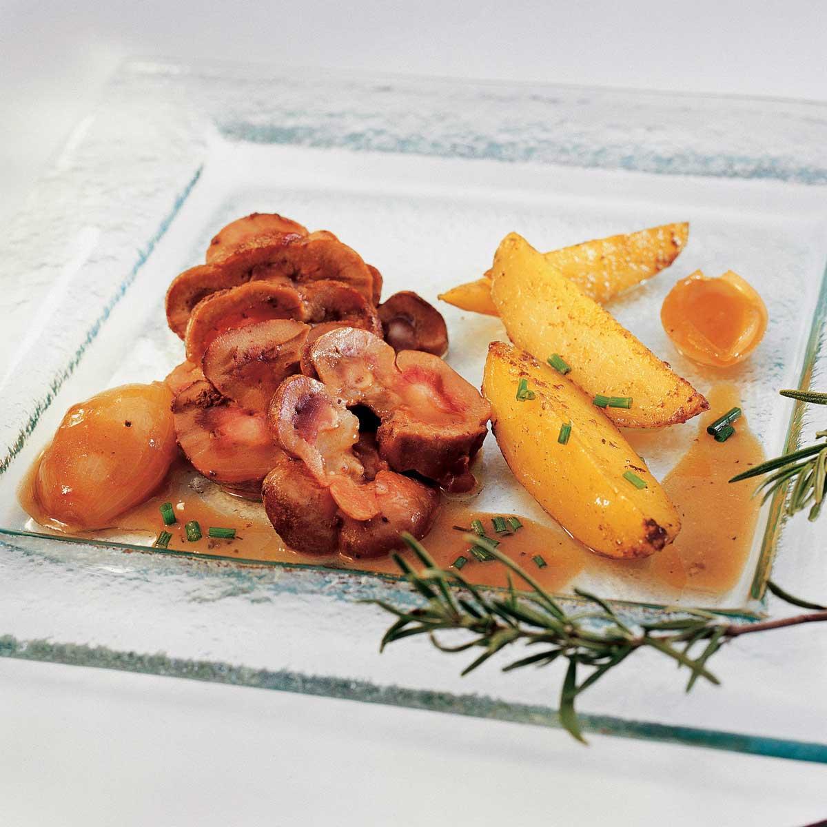 Recette minc de rognon de veau cuisine madame figaro - Cuisiner rognons de veau ...