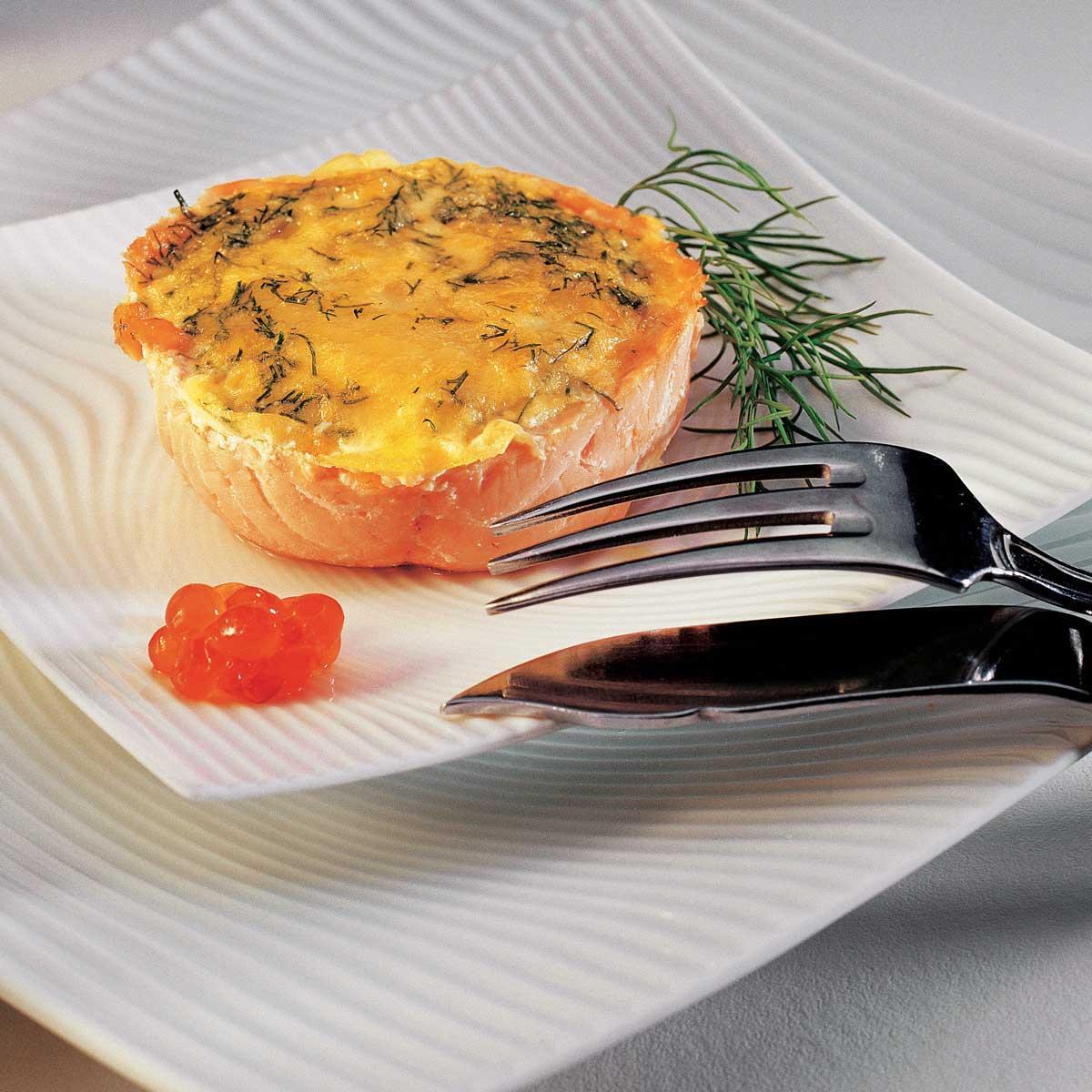 recette pudding de saumon cuisine madame figaro. Black Bedroom Furniture Sets. Home Design Ideas