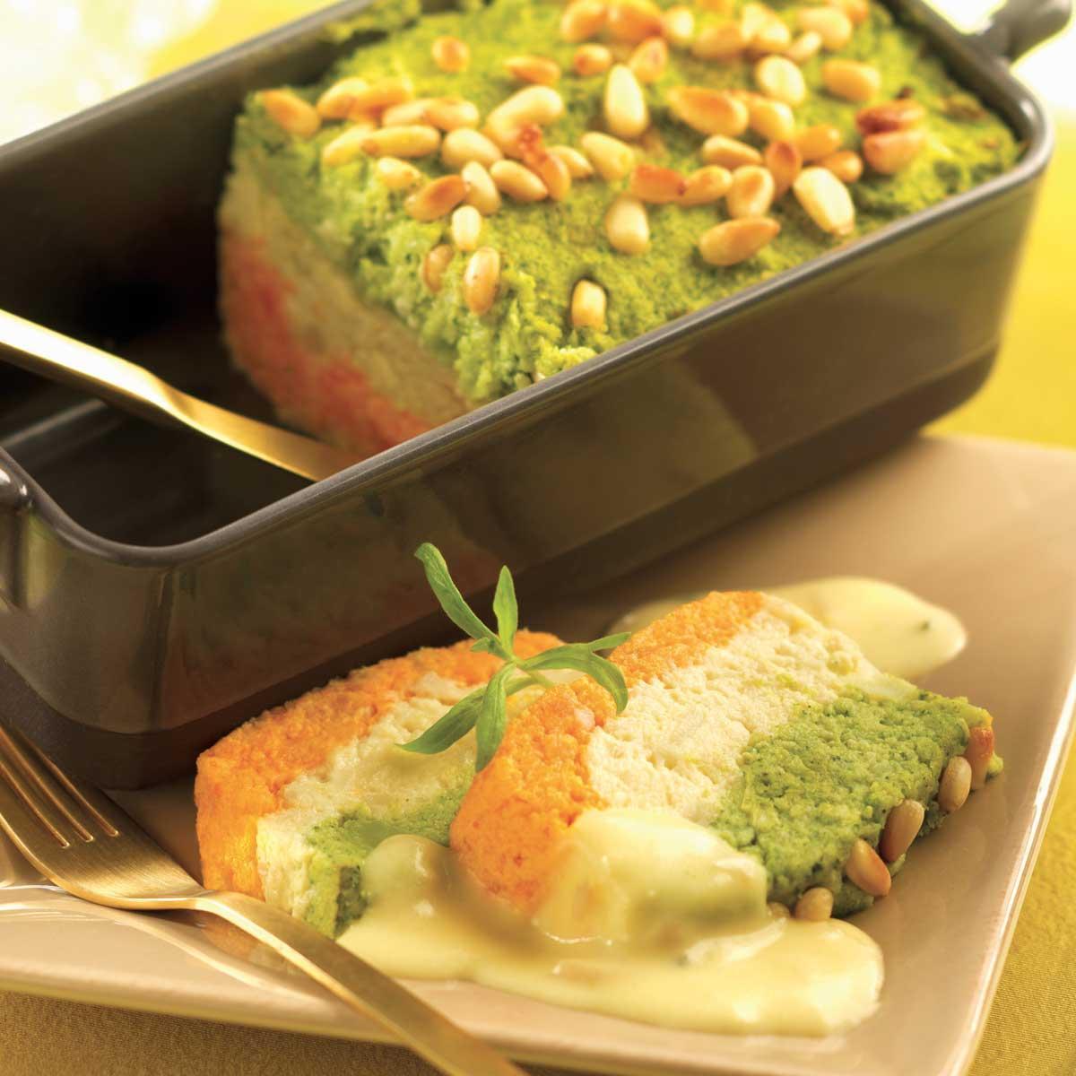 terrine de carottes et brocolis une recette entre amis. Black Bedroom Furniture Sets. Home Design Ideas