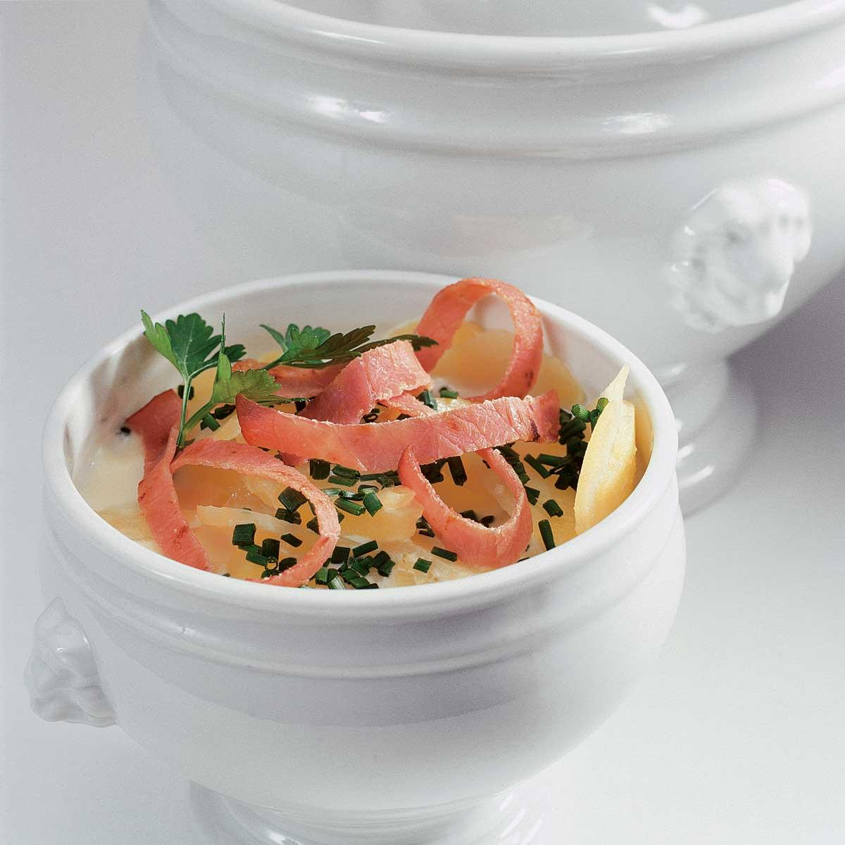 soupe irlandaise une recette soupe cuisine le figaro madame