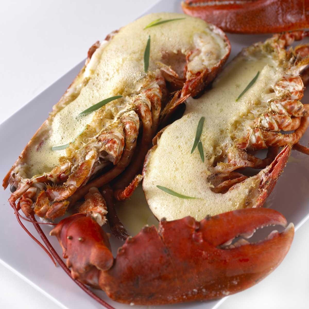 Recette homard grill sabayon au champagne cuisine - Recette homard grille ...