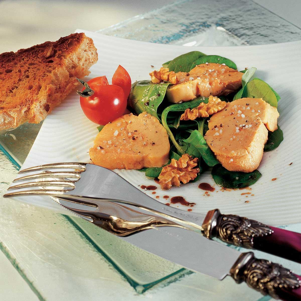 recette foie gras confit au sel de gu rande cuisine madame. Black Bedroom Furniture Sets. Home Design Ideas
