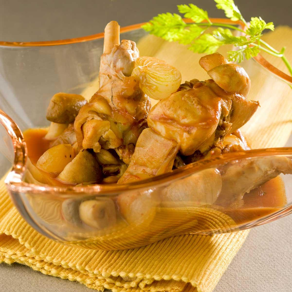 Recette lapin chasseur cuisine madame figaro - Lapin cuisine marmiton ...