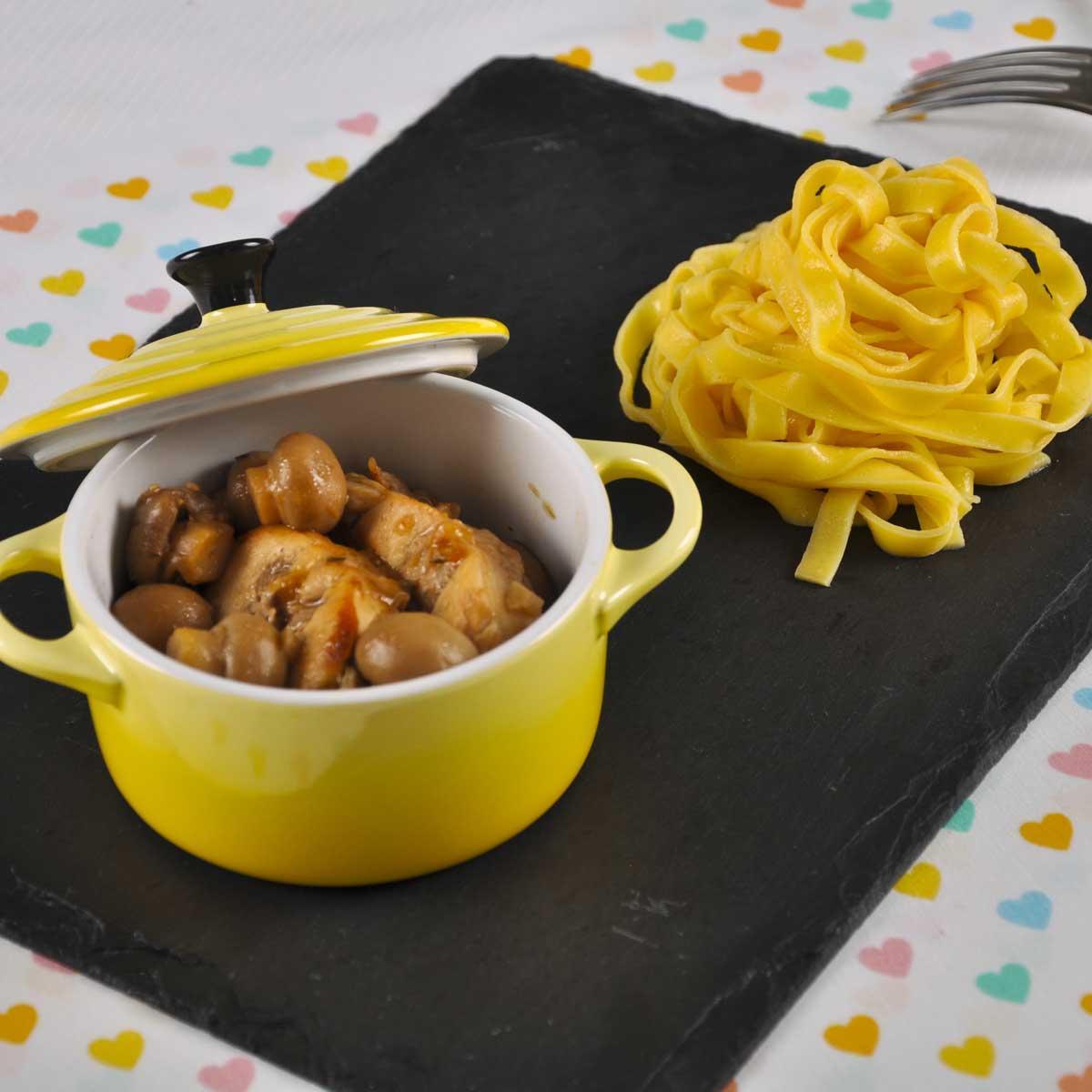recette r bles de lapin brais s aux champignons cuisine madame figaro. Black Bedroom Furniture Sets. Home Design Ideas