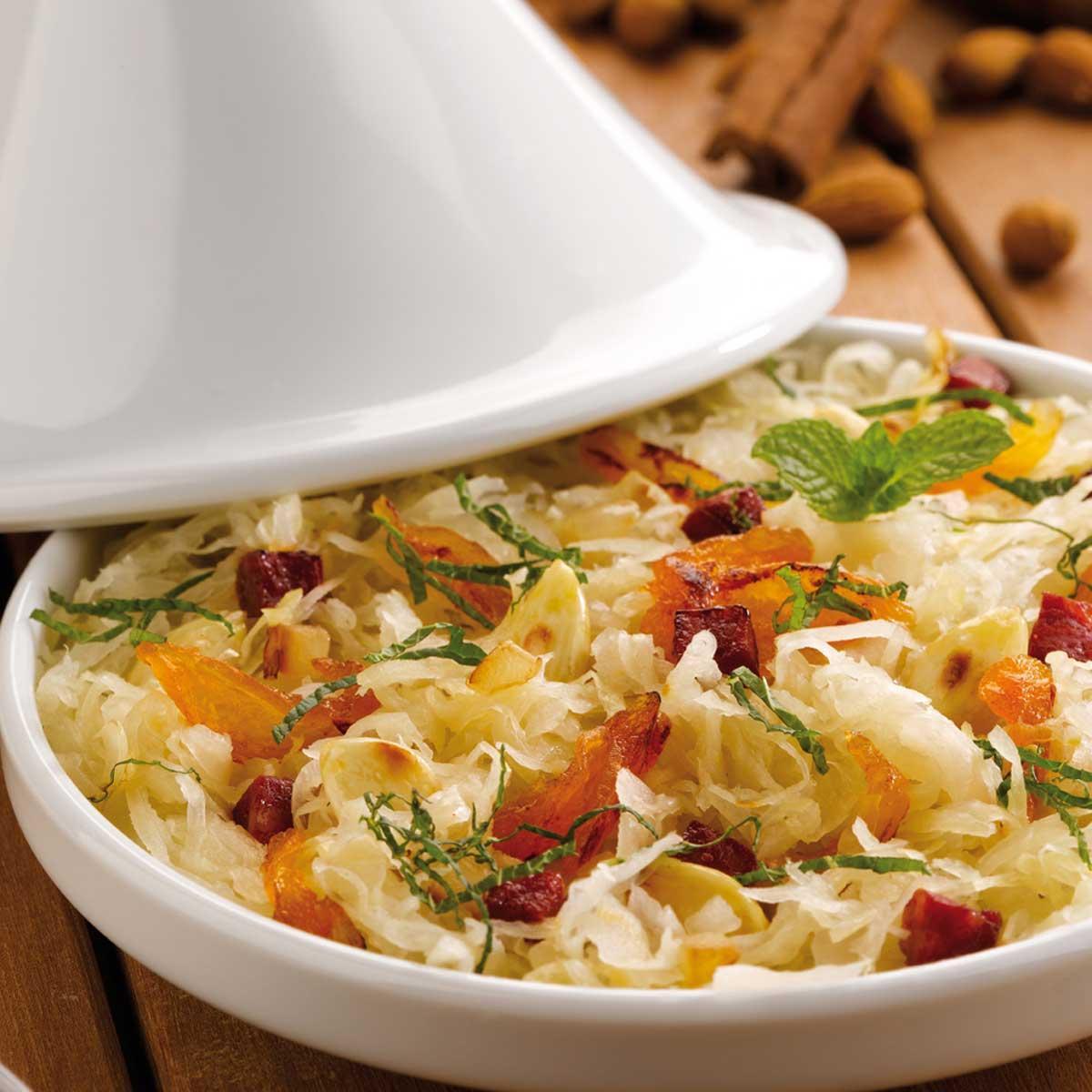 Recette choucroute l 39 orientale cuisine madame figaro for Cuisine orientale