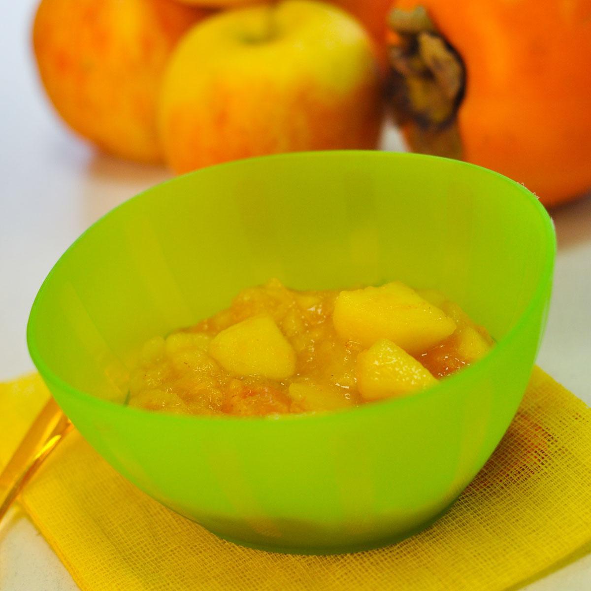 Recette compote pomme kaki cuisine madame figaro for Cuisine kaki