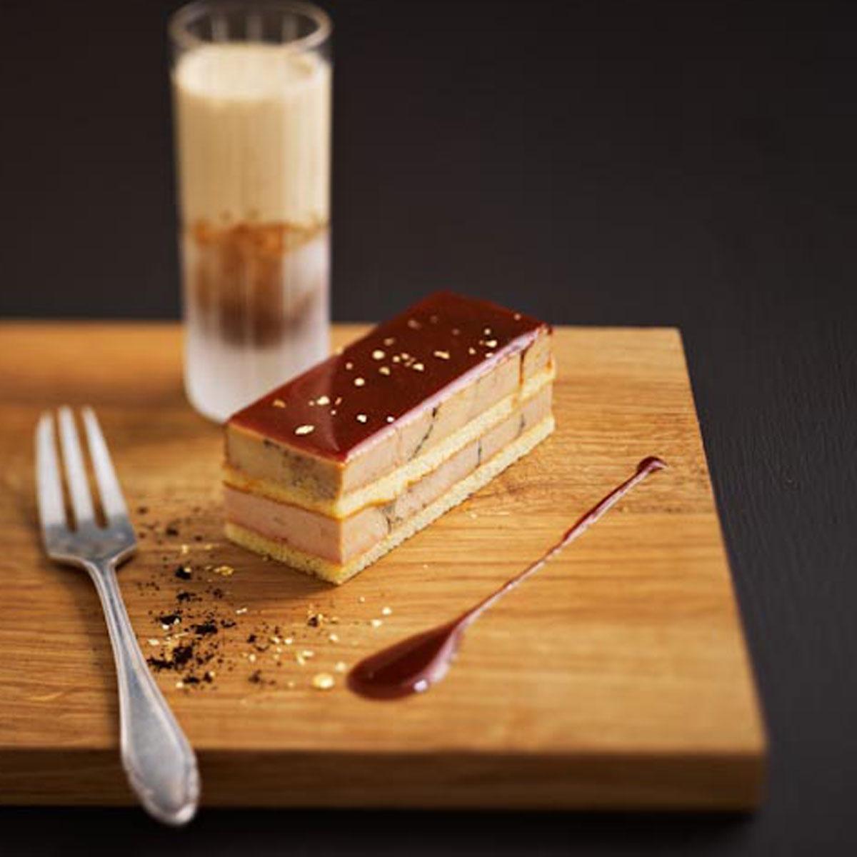 op ra de foie gras une recette f te cuisine le. Black Bedroom Furniture Sets. Home Design Ideas
