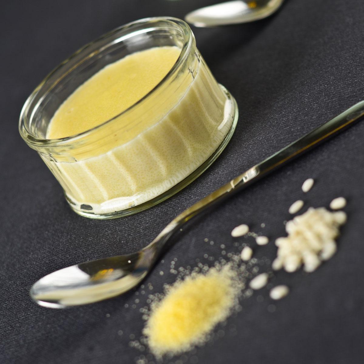 semoule au lait de riz une recette dessert cuisine le figaro madame