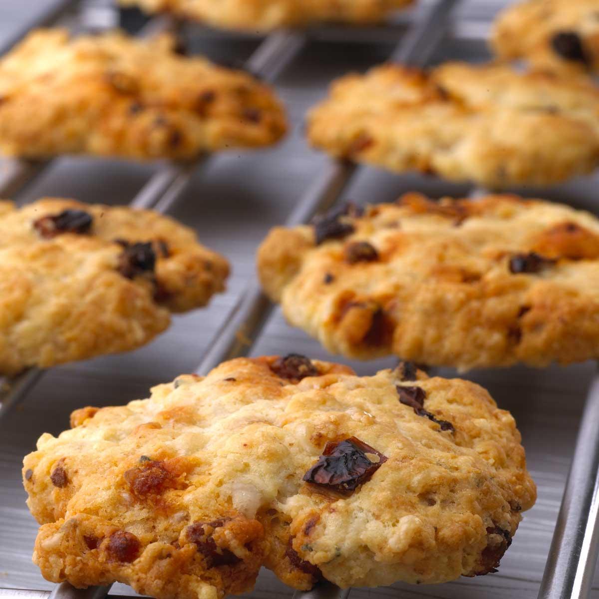recette cookies sal s aux tomates s ch es et au chorizo. Black Bedroom Furniture Sets. Home Design Ideas