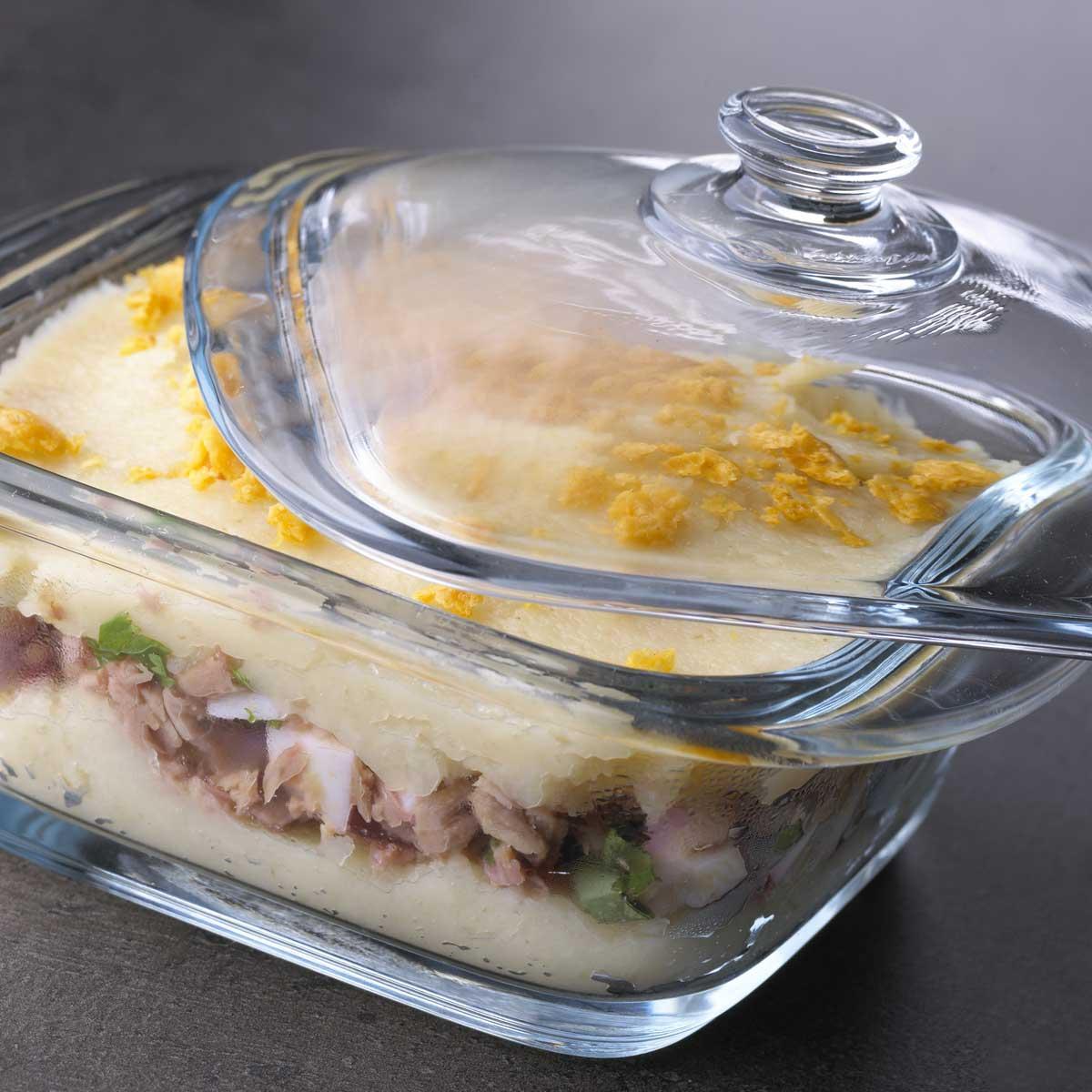Célèbre Recette parmentier de thon aux panais et vieille mimolette - UG16