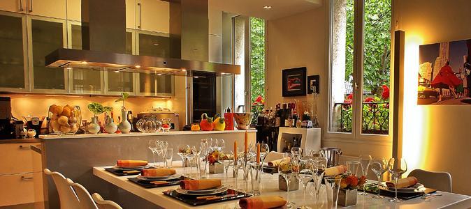 restaurants chez les particuliers madame figaro. Black Bedroom Furniture Sets. Home Design Ideas