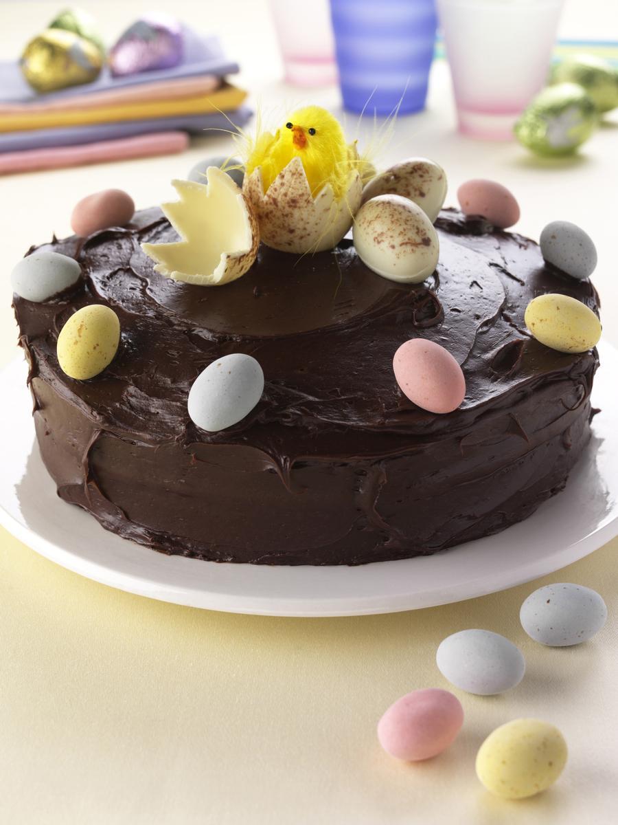 Recette gâteau de pâques au chocolat - Cuisine / Madame Figaro