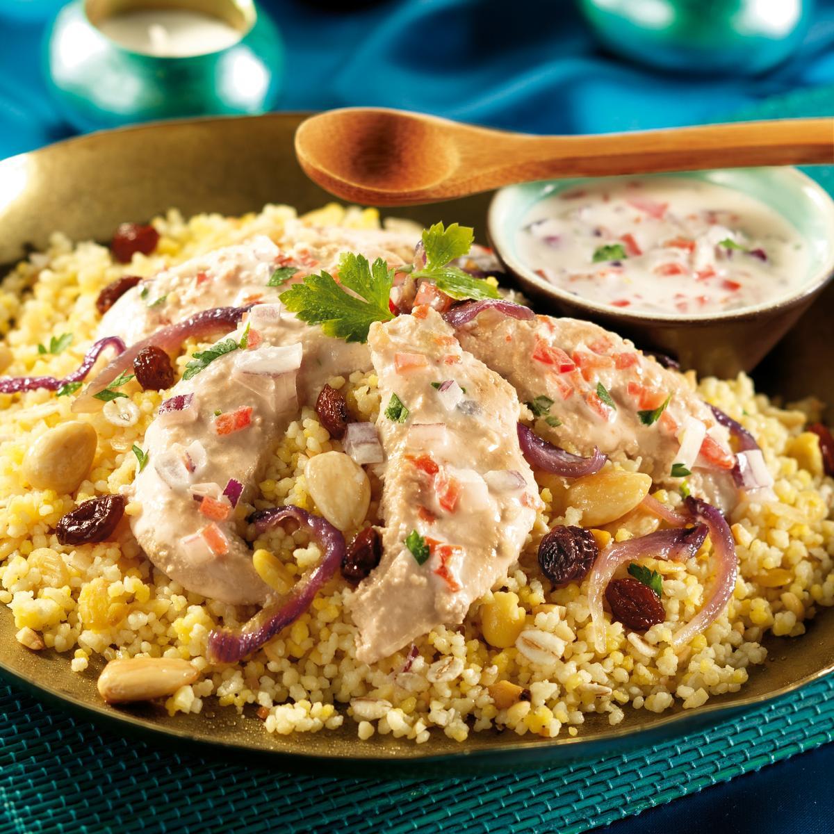 Recette biryani de poulet aux c r ales gourmandes - Cuisine indienne biryani ...