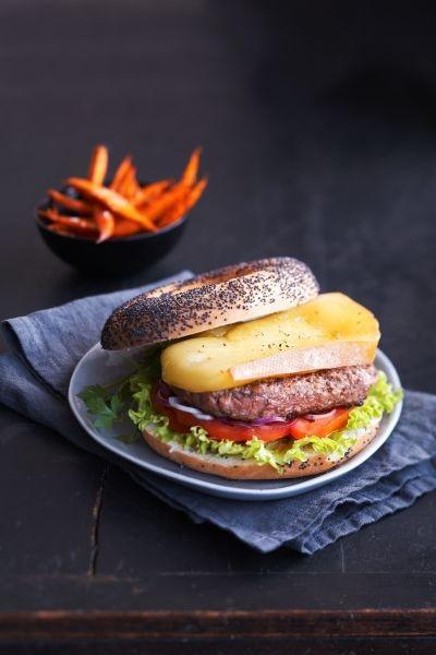 Recette burger suisse la raclette du valais aoc - Chef de cuisine en suisse ...
