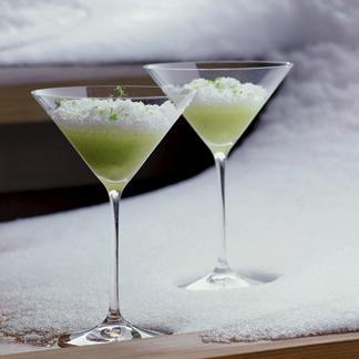 Granit au g n pi poire et citron vert une recette for Cocktail genepi