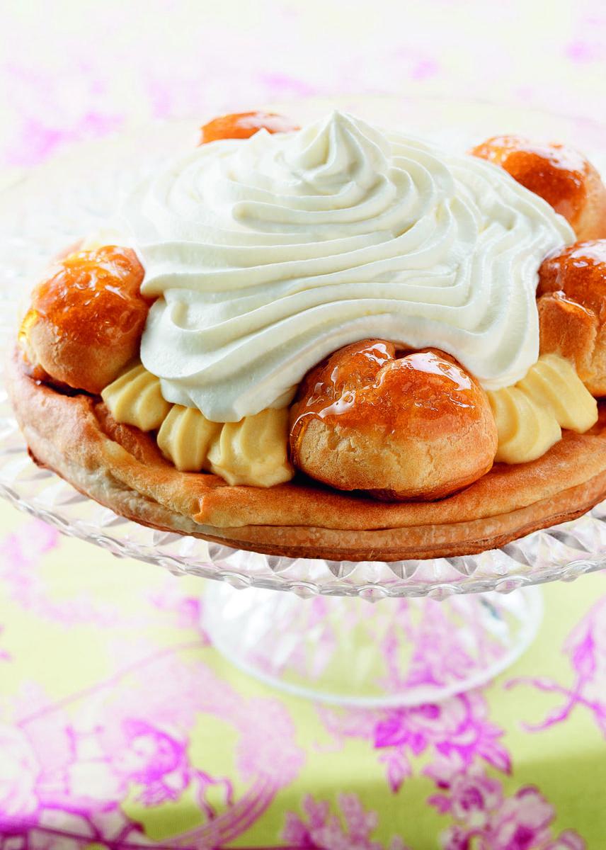 Recette saint honor la verveine cuisine madame figaro - La cuisine de madame saint ange ...