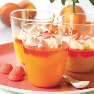 Recette verrines la compote de p che mascarpone et - Cuisine uretre et dessert ...