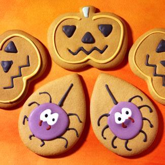 Biscuits d halloween une recette g teau cuisine le figaro madame - Recette gateau halloween facile ...