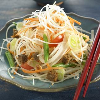 Salade de papaye verte une recette equilibr cuisine le figaro madame - Recette salade verte ...
