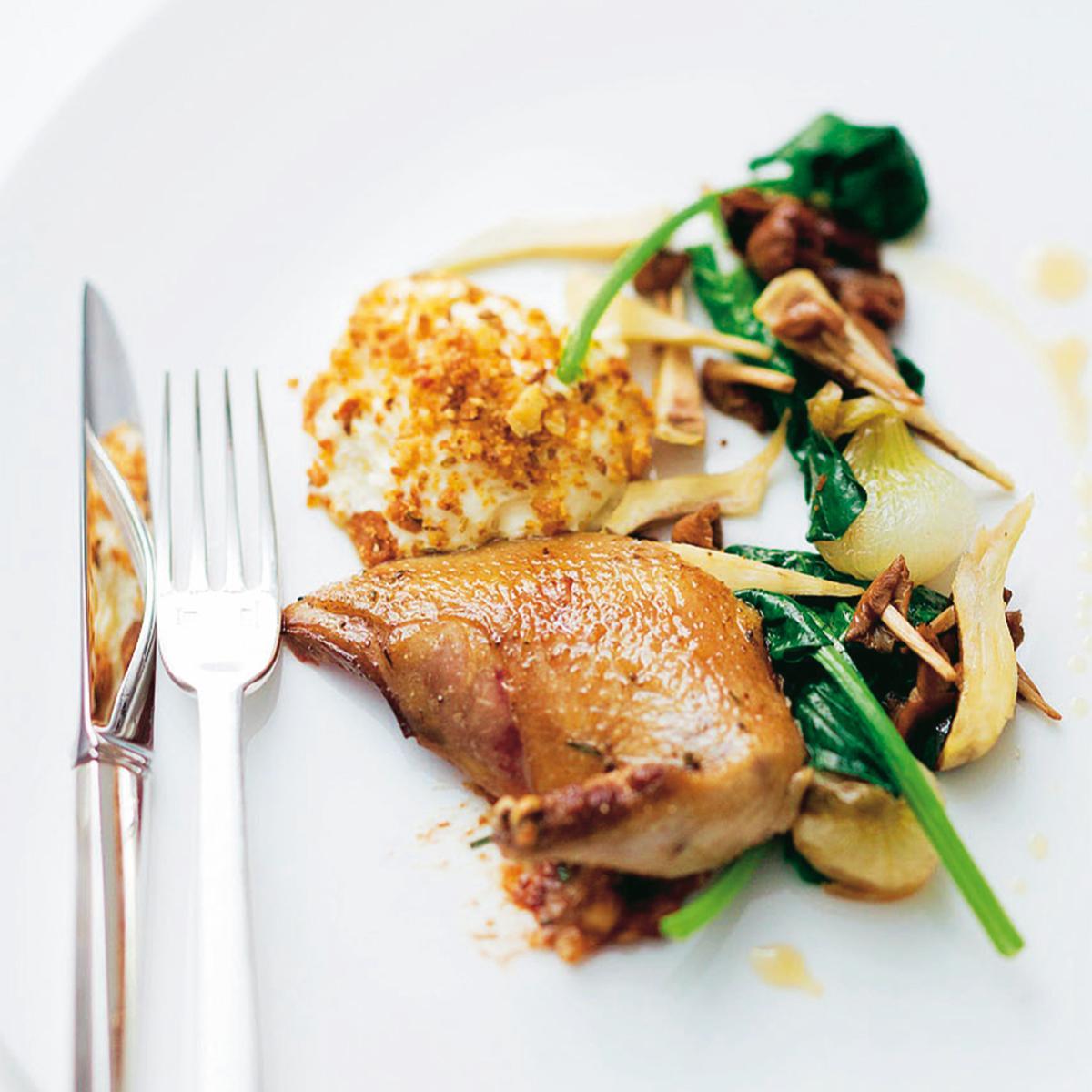 Pigeon du mont royal et l gumes d automne une recette - Cuisine belge recettes du terroir ...