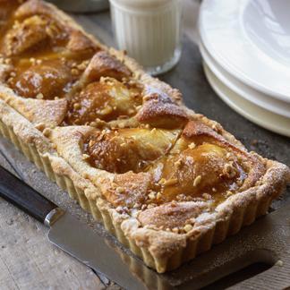 Recette tarte la poire et au mascarpone cuisine - Cuisine au mascarpone ...