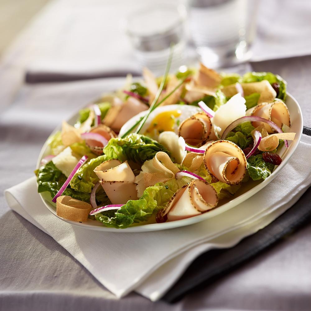 Recette salade c sar au filet de poulet cuisine madame for Cuisine cesar prix