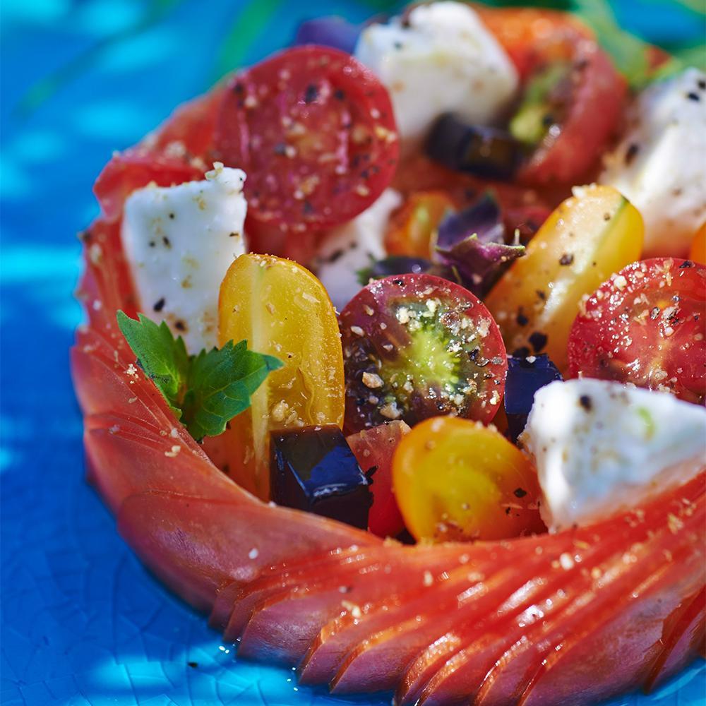 Recette tomates mozzarella cuisine madame figaro - Madame figaro cuisine ...