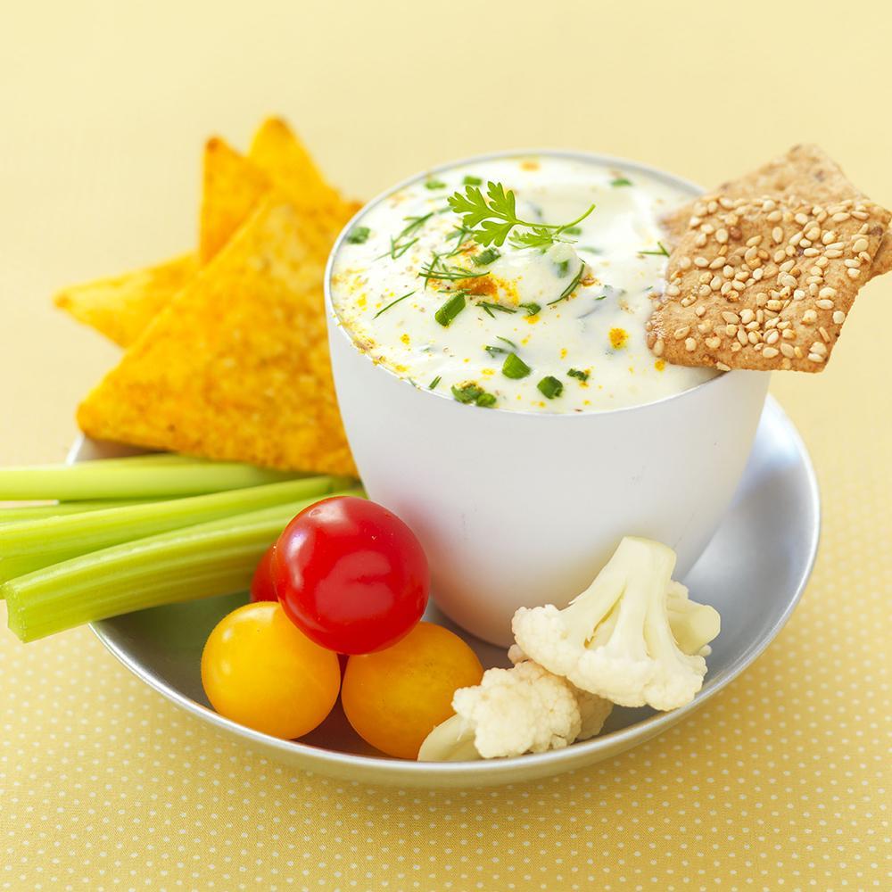recette dip de fromage blanc aux asperges et curry cuisine madame figaro. Black Bedroom Furniture Sets. Home Design Ideas