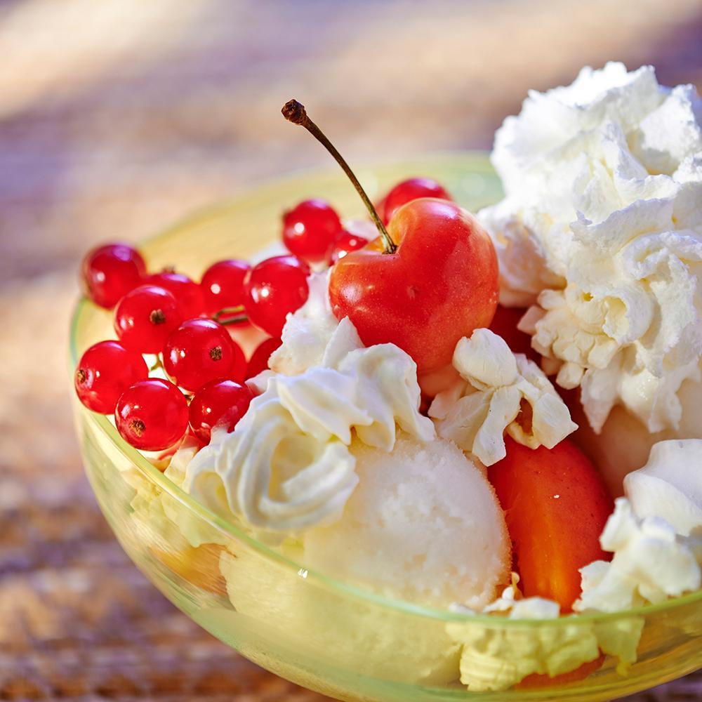 Le saint honor de l 39 t la coupe glac e une recette glace cuisine le figaro madame - La cuisine de madame saint ange ...