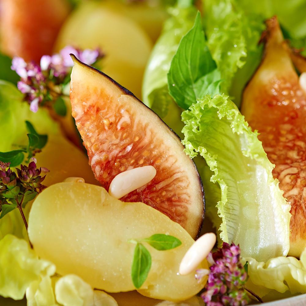 Salade d 39 automne une recette salade cuisine le - Plat d automne cuisine ...