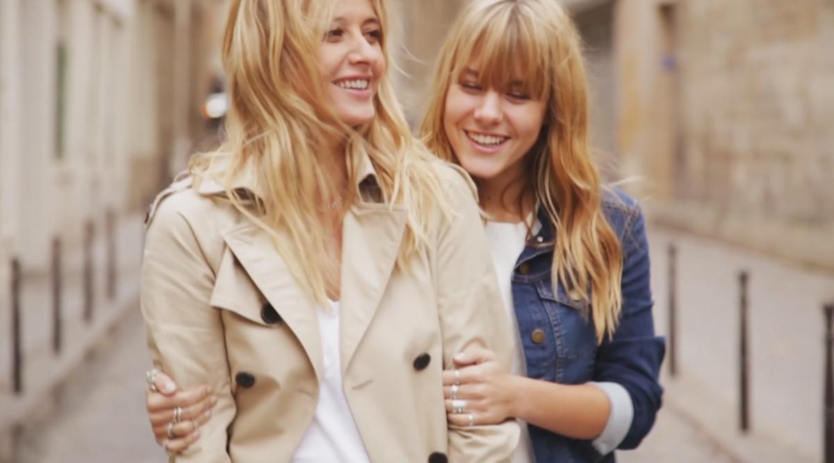 Sarah et yasmine lavoine un duo de charme pour comptoir des - Comptoir des cotonniers mere fille ...