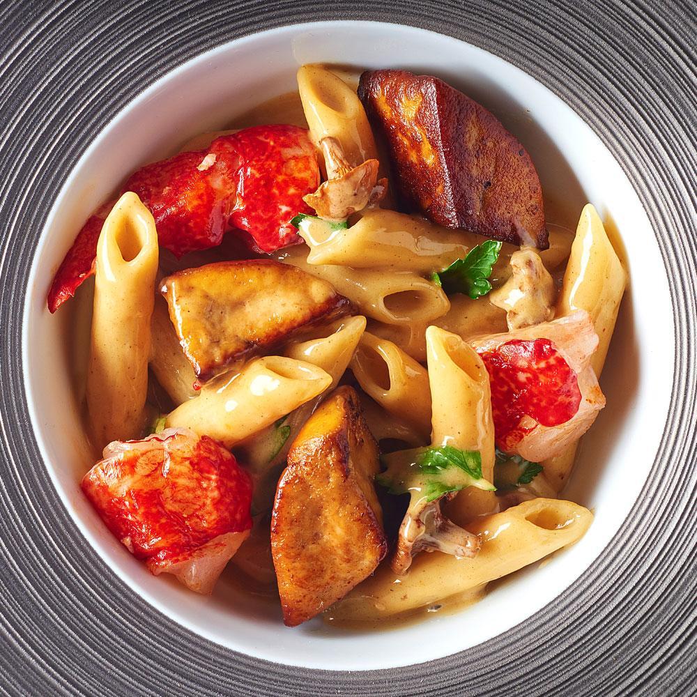 Recette macaronade au foie gras de canard des landes cuisine madame figaro - Site de recettes cuisine ...