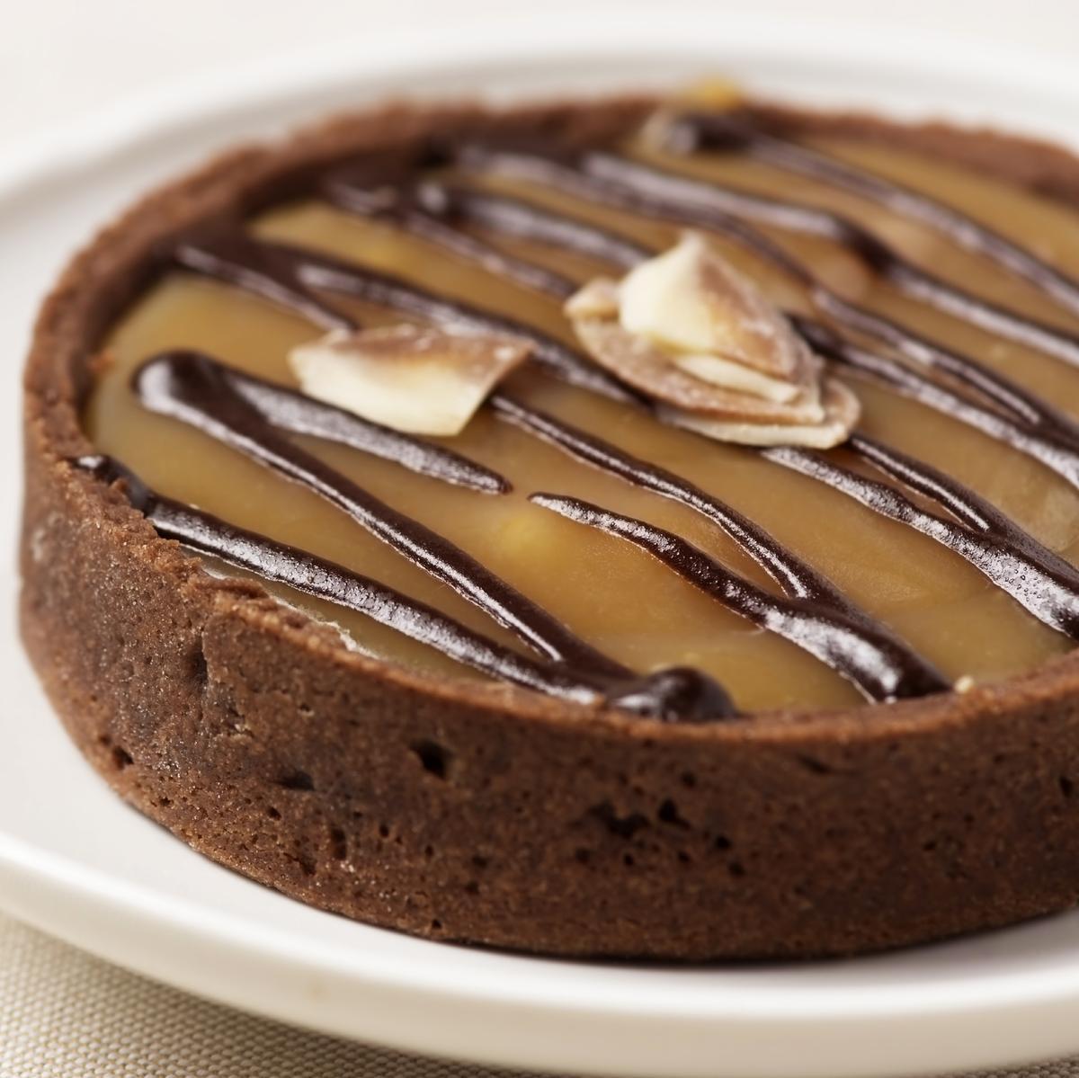 Recette tartelettes vanille caramel aux amandes grill es cuisine madame figaro - Recette chataignes grillees ...