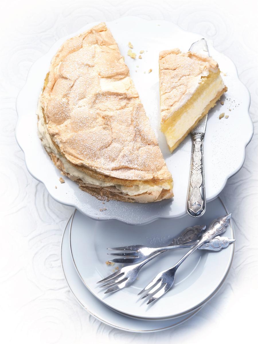 Gâteau de crêpes au lemon curd - une recette Crêpes party - Cuisine ...