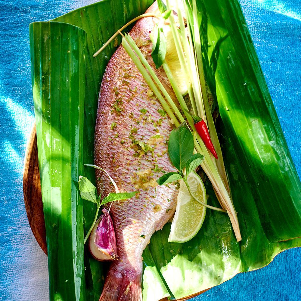 recette dorade à la tahitienne - cuisine / madame figaro