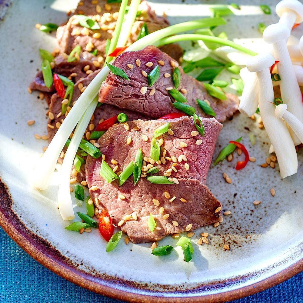 Recette lamelles de b uf la cor enne cuisine madame for Cuisine coreenne