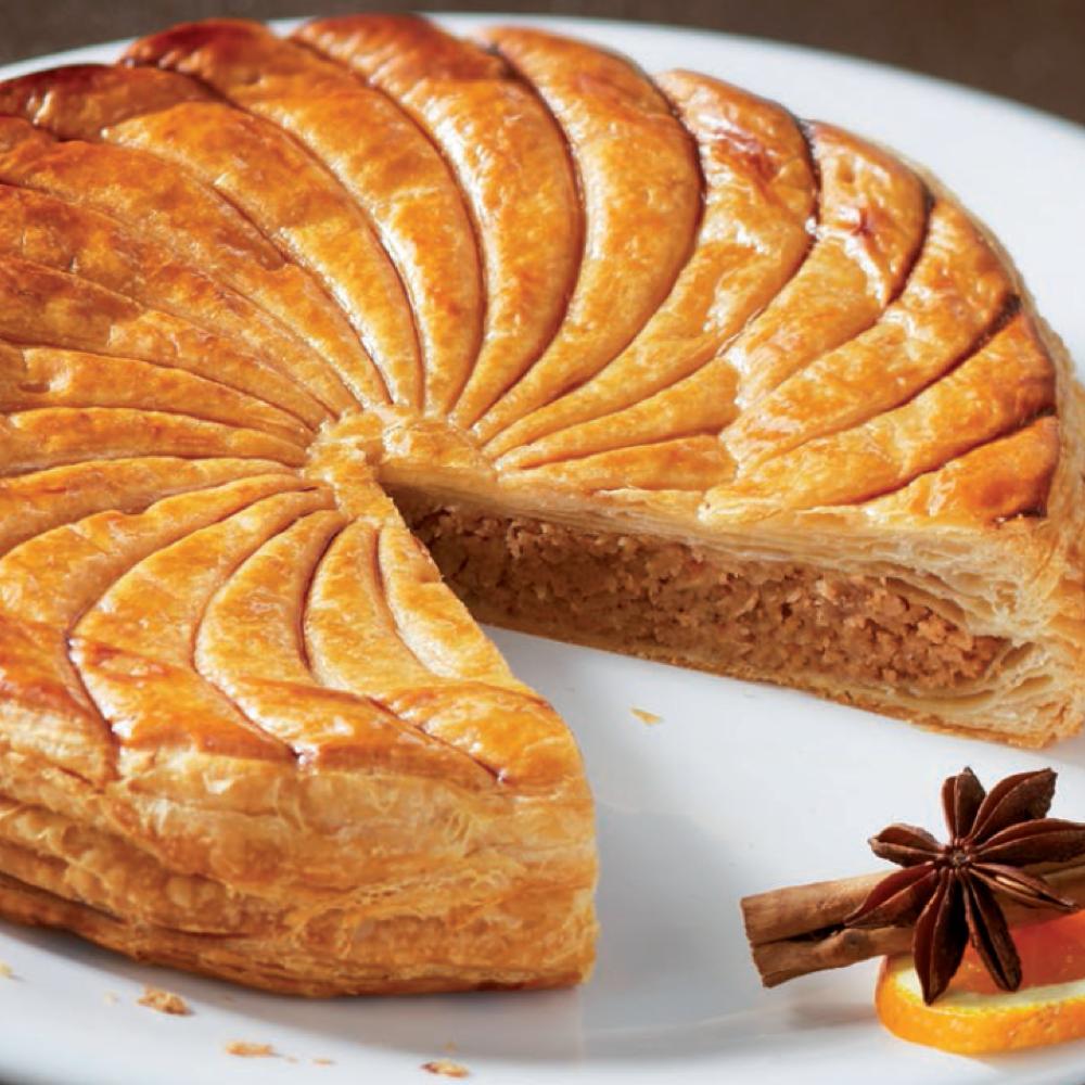 Recette galette des rois au pain d 39 pices cuisine for Galette des rois a la frangipane