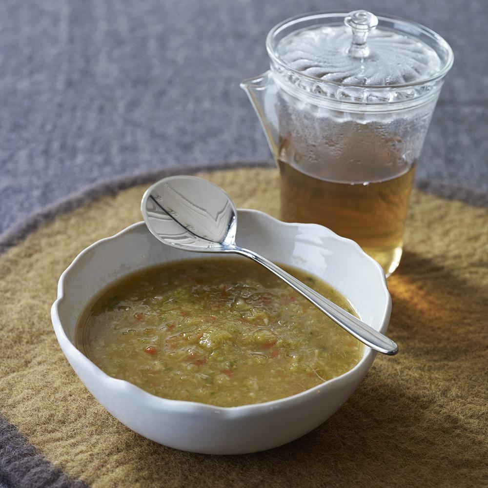 Recette soupe détox - Cuisine / Madame Figaro